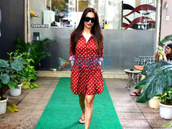 Malaika Arora snapped after salon session in Bandra