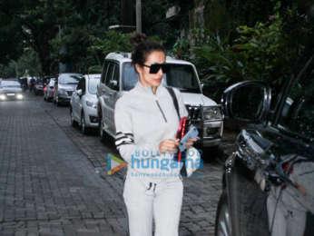Malaika Arora spotted in Juhu