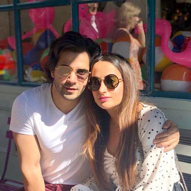 PICS: Varun Dhawan and girlfriend Natasha Dalal are enjoying their London Holiday