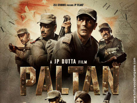 First Look Of Paltan