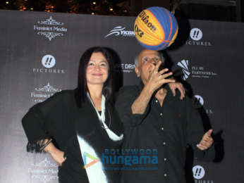 Pooja Bhatt, Mahesh Bhatt and Rohit Bakshi for a press meet with Team 'Delhi 3BL'