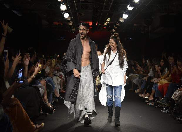 Prateik Babbar for Chola LFW 2018