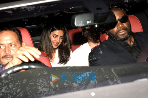 Priyanka Chopra, Nick Jonas and with family snapped at St. Catherine's orphanage in Andheri