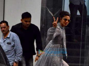 Priyanka Chopra spotted at Siddharth Roy Kapur's office in Khar