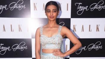 Radhika Apte graces Tanya Gharvi and Kalki's wedding couture and pret showcase
