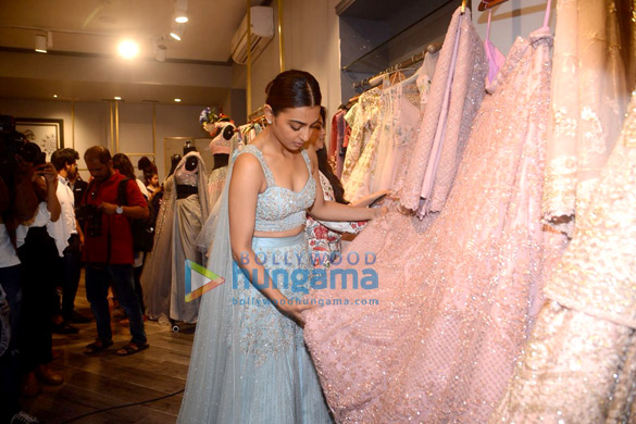 Radhika Apte graces Tanya Gharvi and Kalki's wedding couture and pret showcase