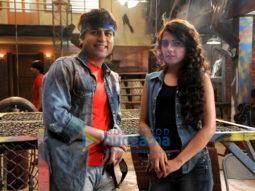 On The Sets Of The Movie Rashtraputra