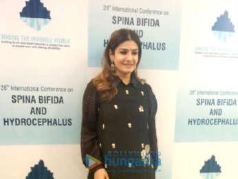 Raveena Tandon graces the 28th International Convention on Spina Bifida and Hydrocephalus in Delhi