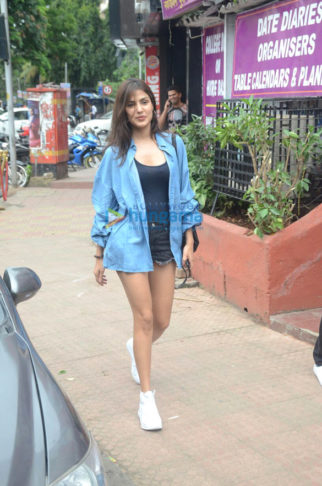Rhea Chakraborty snapped at Bastain in Bandra