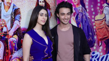 SPOTTED Ayush Sharma and Warina Hussain promoting Loveratri at KC College