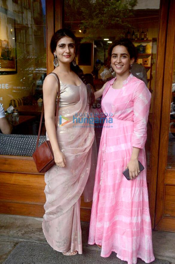 Sanya Malhotra and Fatima Sana Shaikh snapped at Sequel