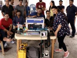 On The Sets Of The Movie Saroj Ka Rishta
