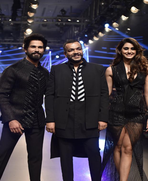 Shahid Kapoor and Disha Patani for Amit Aggarwal