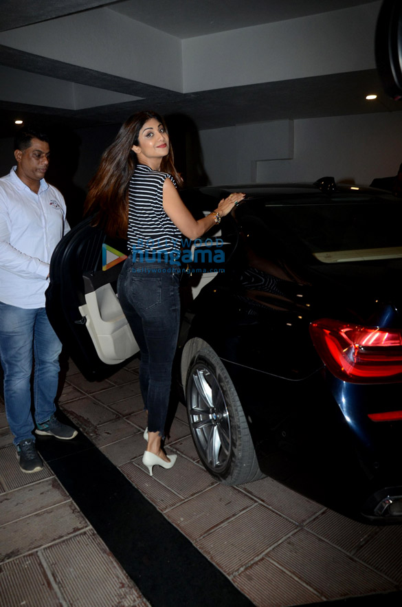 Shilpa Shetty snapped at Manish Malhotra's house