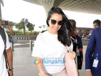 Shraddha Kapoor, Ayushmann Khurrana and others snapped at the airport