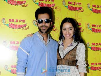 Shraddha Kapoor and Rajkummar Rao snapped promoting Stree at the 98.3 FM Radio Mirchi office