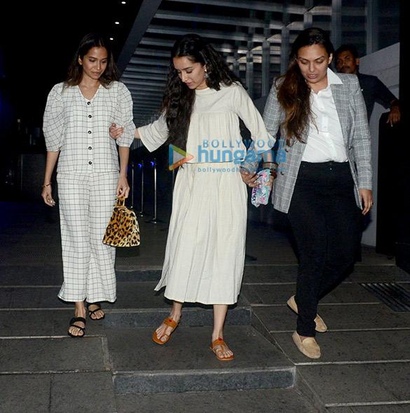 Shraddha Kapoor snapped at Hakkasan in Bandra