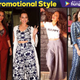 Sonakshi Sinha Promotional Style for Happy Phirr Bhag Jayegi