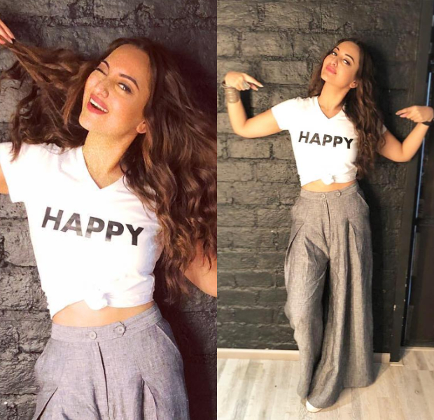 Sonakshi Sinha for Happy Phirr Bhag Jayegi promotions (1)
