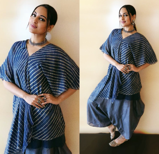 Sonakshi Sinha for Happy Phirr Bhag Jayegi promotions (9)