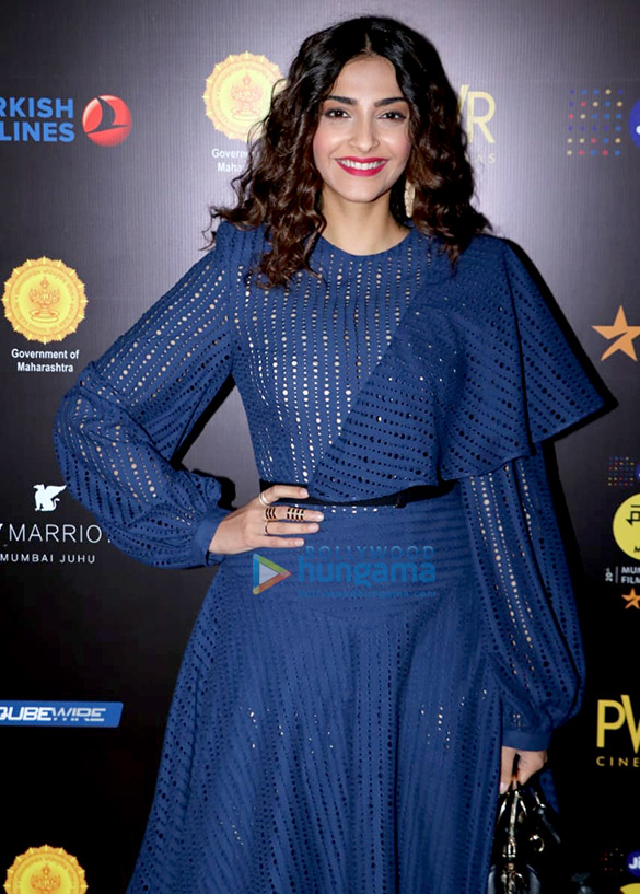 Sonam Kapoor at MAMI film festival at JW Marriott juhu