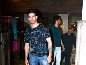 Sooraj Pancholi spotted at Hakim's Aalim in Bandra