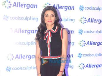 Sushmita Sen, Dabboo Ratnani and Prashant Sawant grace the launch of Allergan Coolsculpting technology