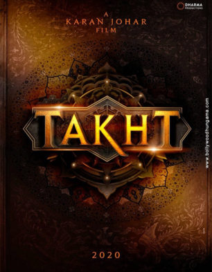 First Look Of The Movie Takht