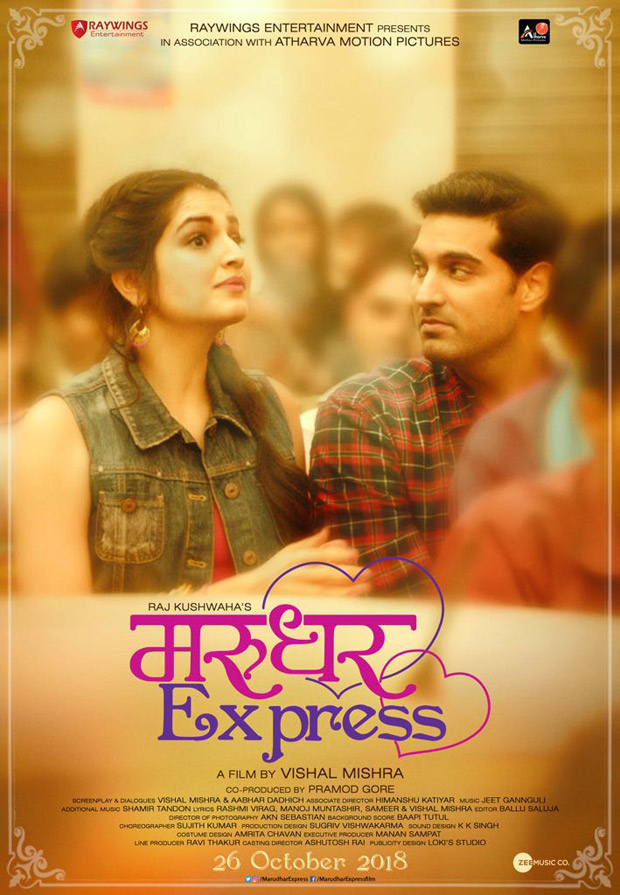 Vishal Mishra Wonderfully Captures Small-Town Romance In His Upcoming Film, 'Marudhar Express': First Look Out