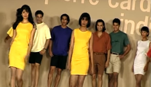 WATCH: Aishwarya Rai Bachchan, Milind Soman, Madhu Sapre, Arjun Rampal, Mehr Jesia & all of 90s supermodels walk ramp on one platform