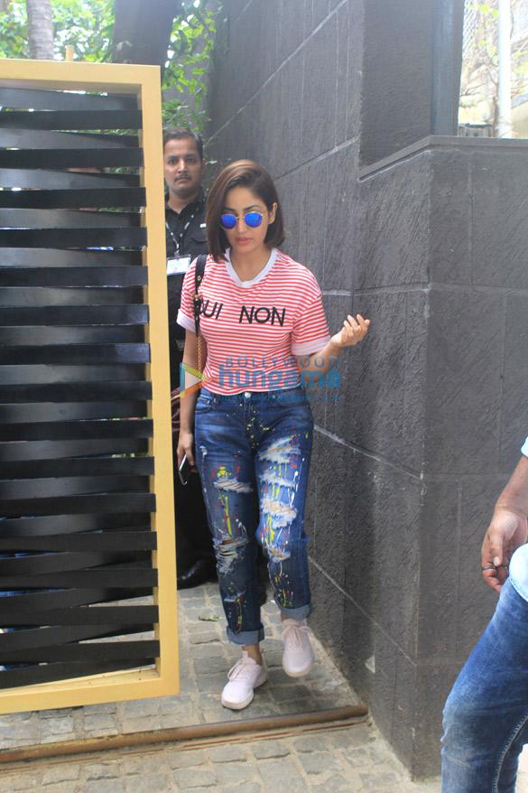 Yami Gautam spotted in Bandra