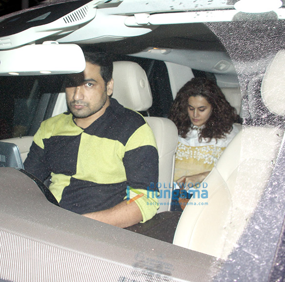 Abhishek Bachchan, Taapsee Pannu and others snapped at the airport (4)