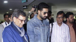 Abhishek Bachchan at the inauguration of '75 frames a rare collection of Amitabh Bachchan's photos