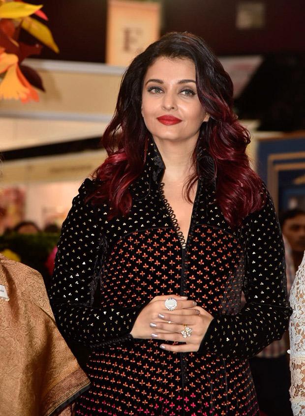 Aishwarya Rai Bachchan in Rohit Bal Couture for IMC Ladies event (5)