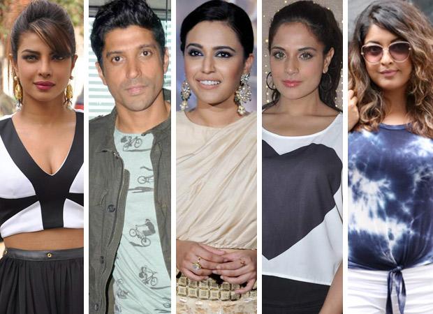Amid major silence from film industry, Priyanka Chopra, Farhan Akhtar, Swara Bhaskar and Richa Chadda support Tanushree Dutta
