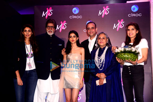 Amitabh Bachchan, Navya Naveli Nanda, Jaya Bachchan snapped at Shweta Bachchan Nanda's label launch with Monisha Jaising