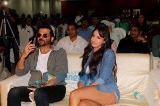 Anil Kapoor & Nora Fatehi snapped at NM College Festival