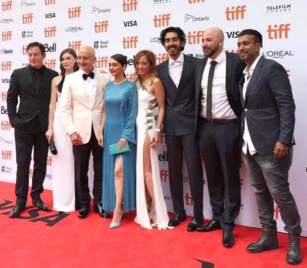 Anupam Kher, Dev Patel, Armie Hammer, Jason Isaacs make a splash at world premiere of Hotel Mumbai at TIFF 2018