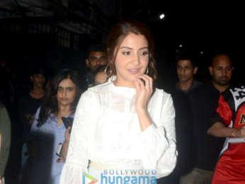 Anushka Sharma and Varun Dhawan snapped in Bandra