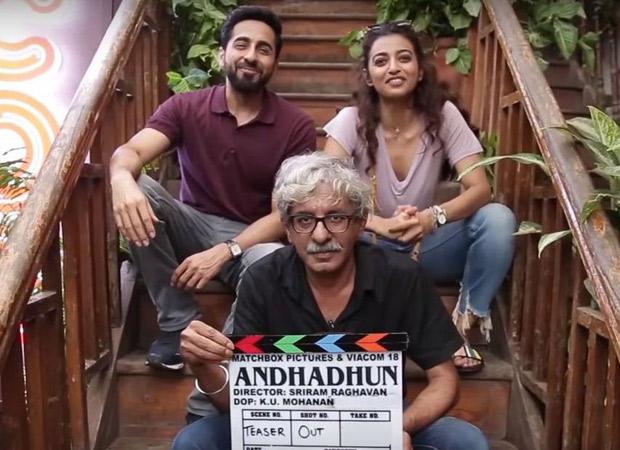 Ayushmann Khurrana – Radhika Apte's Andhadhun to do a whacky social experiment to promote the trailer
