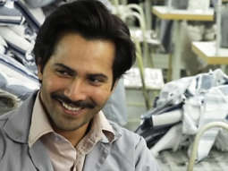 BEHIND THE SCENES Varun-Anushka work in a textile factory Sui Dhaaga - Made In India