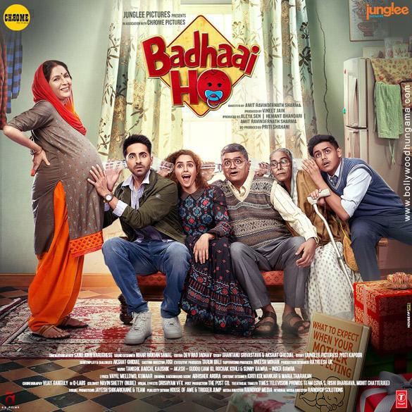 First Look Of The Movie Badhaai Ho