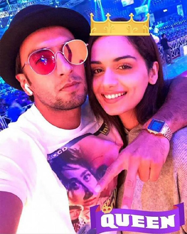 Check out Ranveer Singh is FLUMMOXED as Manushi Chillar bags an interview at The Ellen Show
