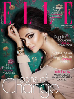 Deepika Padukone On The Cover Of Elle