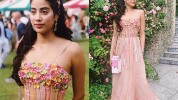 Janhvi Kapoor in Rahul Mishra for Isha Ambani engagement bash (Featured)