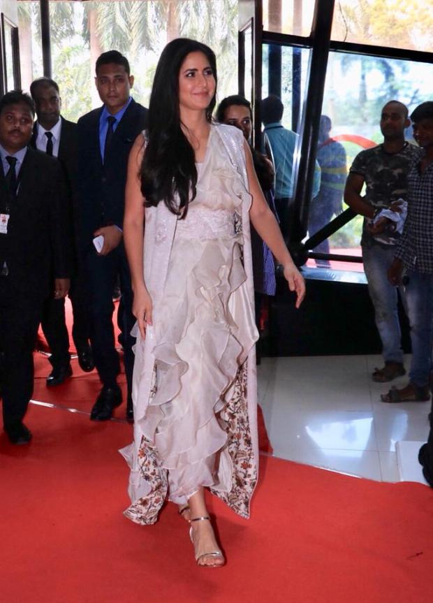Katrina Kaif in Anamika Khanna for Thugs Of Hindostan trailer launch (2)