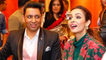 Malaika Arora attends an event at Bally's Casino Sri Lanka with MD & marketing Head Shaik Fazil