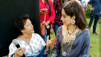 On The Sets Of The Movie Manikarnika - The Queen