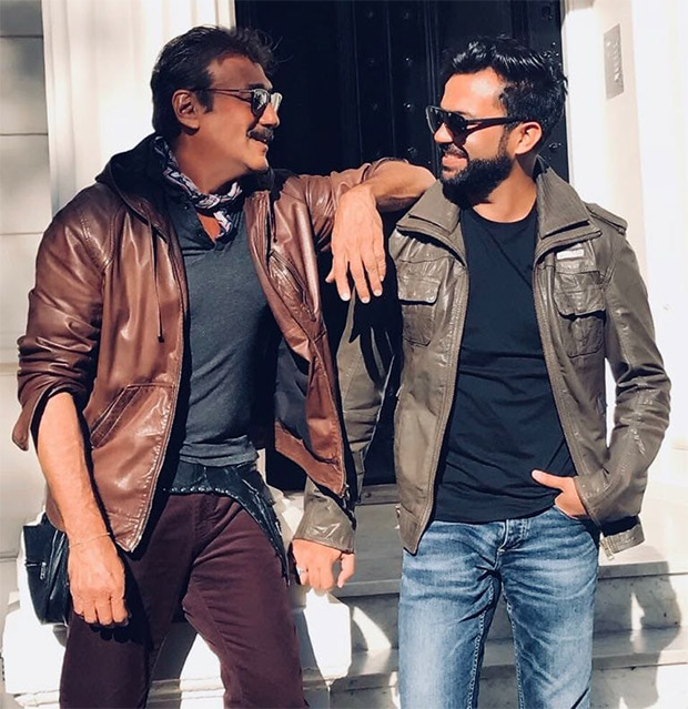 ON THE SETS: Ali Abbas Zafar shares a laugh with Jackie Shroff who will play Salman Khan's father in Bharat