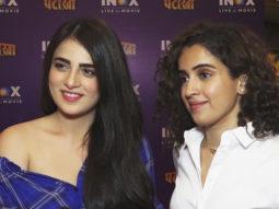 Radhika Madan & Sanya Malhotra OPEN UP about Pataakha & lot more